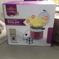 AXARA EASY POT STAINLESS STEEL MAGIC RICE COOKER