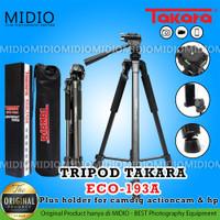 Tripod Takara Eco 193A Plus Holder Handphone Tas Tripod