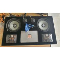 Paket Audio Mobil VE Audio - processor speaker subwoofer