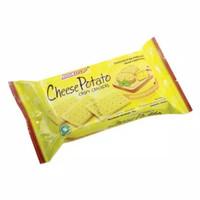 Biskitop Biskuit Cheese Potato Crispy Crackers 70gram 70 gram
