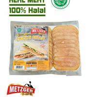HAM AYAM ASAP HALAL METZGER SMOKED CHICKEN BREAST 150GR