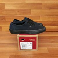 Sepatu Vans Authentic Dress Blue Navy Black ORI Premium BNIB Quality