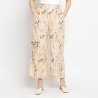 Celana Kulot Wanita Premium Creamline - Emikoawa Celana Panjang Wanita
