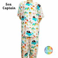 Piyama Anak Laki-laki Baju Celana Tidur Panjang 8-10-12 Tahun-Remaja