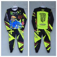 setelan baju motor cross jersey motor balap anak size 4-14