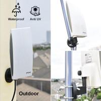Antena TV Digital Analog PX DA-5200 Kabel 12M Booster Indoor-Outdoor