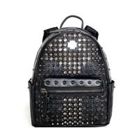 MCM Diamond Stark Medium Backpack tas ransel ORIGINAL FO ORI AUTHENTIC - A