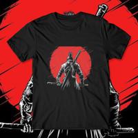 Baju T shirt Kaos Big Size Bigsize Pria S M L XL 2XL 3XL 4XL Samurai