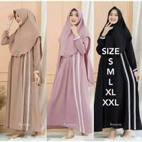 Baju Gamis Denada Dress Gamis Syari Terbaru 2021 Baju Wanita Murah XXL