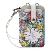 Sakroots Wristlet Smartphone Pastel Flower Graden