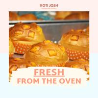 Roti Keju Leleh/Melted Cheese - Roti Josh