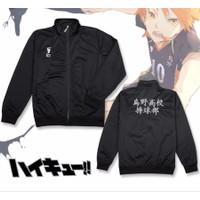 Jaket Anime Haikyuu Karasuno Anime Cosplay Sporty Premium