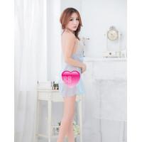 Lingerie Sexy Dress Baju Tidur Lace Babydoll Murah Size S 5480