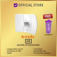Tenda O9 AP CPE 09 Wireless Router 11ac 23dBi Gigabit Outdoor WiFi 0 9