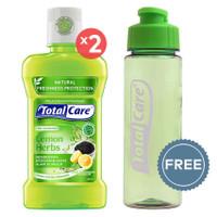 TOTAL CARE Anti Bacterial Mouthwash Lemon Herbs - 250 mL | Buy 2 Get 1