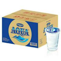 Aqua gelas 220ml air mineral - 1 Dus isi 48