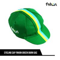 FNHON CYCLING CAP GREEN BURN GAS