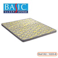 Basic Mattress Toper Orthopedic 10cm 160 x 200 - Kasur Busa Rebonded