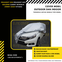 Cover Sarung Mobil Polyester Peugeot 206 Peugeot 605 Baleno Carry