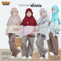 Thaluna Kids Culotte Sets Winnie / Setelan Baju Muslim Anak Perempuan