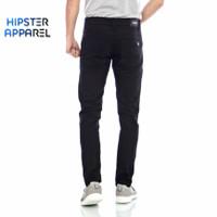 HIPSTER Celana Chinos Pria Canada Slim Fit Basic Hitam