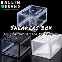 Sneakers box - Shoe box - kotak sepatu Sneaker Magnetic - display box