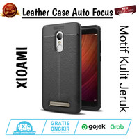 Leather Case XIOAMI REDMI NOTE 3 Slim Auto Focus Carbon Soft