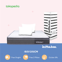 Kasur Springbed INTHEBOX PLUS UK 180x200 (King) FREE PILLOW