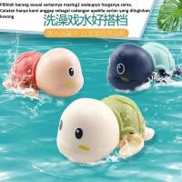 Mainan Mandi Anak Bentuk Kura Kura / Mainan Bak Mandi Anak - Hijau