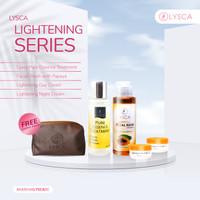 Paket Lysca Lightening Series - Pencerah Wajah - Paket Glowing - Putih