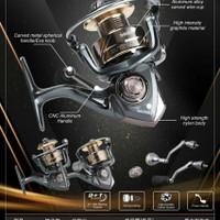 reel pancing power handle daihan renno 1000 new murah laris semarang