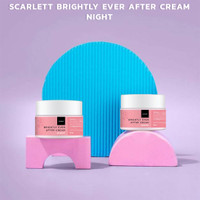 SCARLETT SCARLET WHITENING BRIGHTLY EVER AFTER NIGHT CREAM CREAM NIGHT