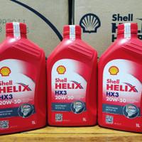 Oli Shell Helix HX3 SAE 20W-50 1L Original