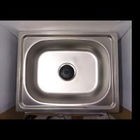 Bak cuci piring/Bak cuci picing stainless/Kitchen sink/Wastafel