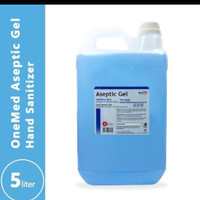 Aseptic Gel OneMed 5 Liter Handsanitizer One med 5L - Refill