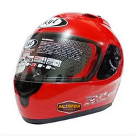 HELM KYT RC7 SOLID FIRE RED HELM KYT FULL FACE KYT RC SEVEN