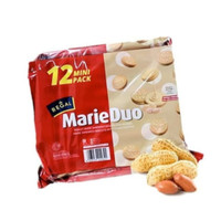 Regal Biscuit Biskuit Marie Duo Kacang Isi 12 Pcs Sachet 12Pcs