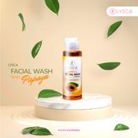 Facial Wash Lysca - Sabun Wajah Pemutih - Pencerah Wajah dan Glowing