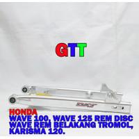 SWING ARM DKT HONDA WAVE/SUPRA X125 (2 FUNGSI REM DISC DAN REM TROMOL)