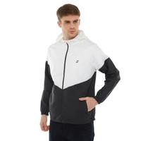 ZOLEKA Strive Jaket Sport Packable Tahan Angin Pria - White/Black