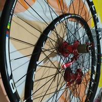 Wheelset Araya 27 5 Hub Freehub Novatec 32 hole