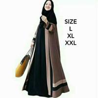 Baju Gamis Ukuran Jumbo Higth Quality Quenee Dress / Gamis Ibu Hamil