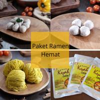 Paket Ramen Hemat 6 Porsi- Baso Yen