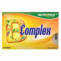 Nutrimax B Complex Blister - 10 Tablet - Suplemen Vitamin B