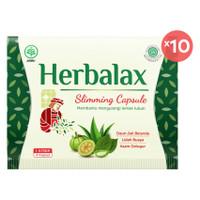 Herbalax Slimming Capsule - 40 Kapsul - Obat Pelangsing