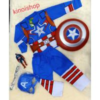 baju topeng anak captain america
