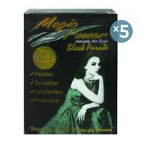 Magic Power Tissue Black Parade Pack - 5 Pack