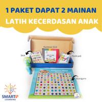 mainan board game montessori edukasi edukatif belajar warna anak murah