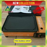 Kompor Gas Portable Panggangan Sate 2 in 1 Progas Barbeque Grill