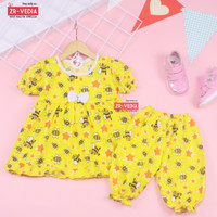 Setelan Berry 1-2 Tahun / Baju Tidur Anak Perempuan Murah Set Piyama